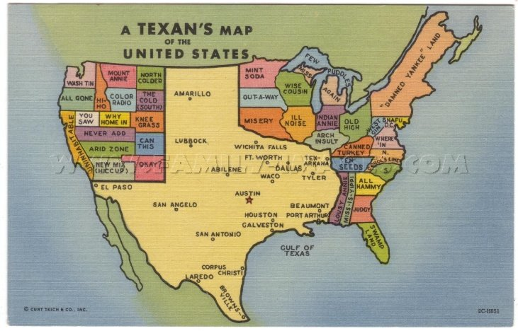 View Texas Map